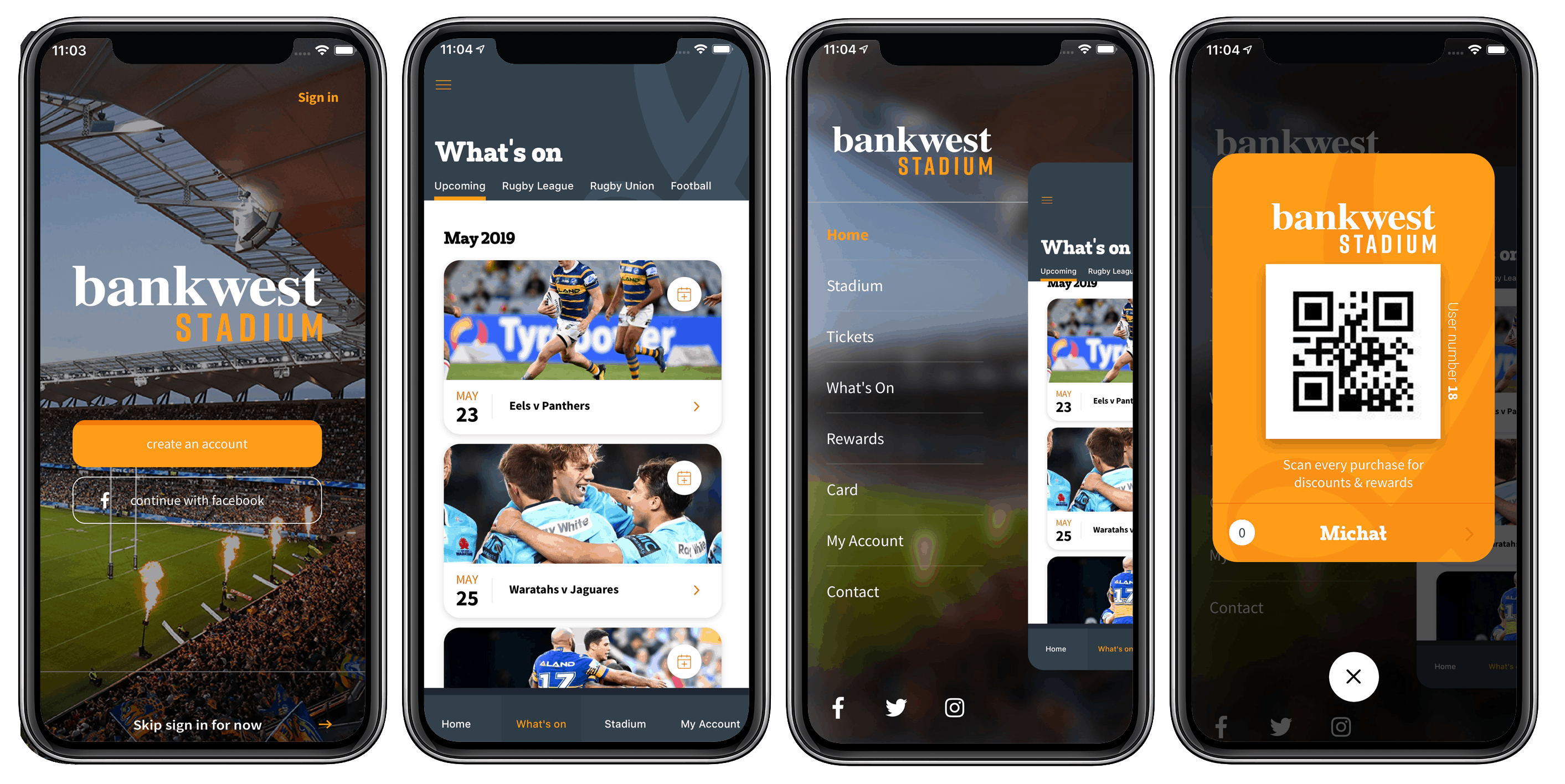 Bankwest Stadium Score App Preview