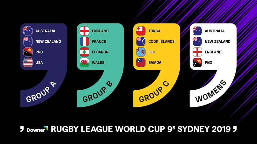 Downer Rugby League World Cup 9s Sydney