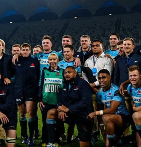 Waratahs v Western Force
